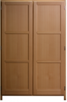 Placard bois hêtre ouvrant dimensions 6800x1200mm
