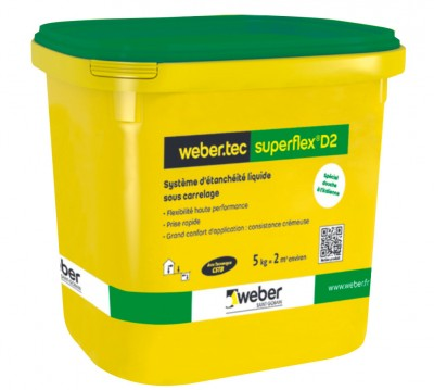 Kit WEBER TEC SUPERFLEX D2 5kg