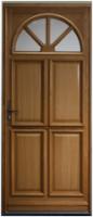 Porte d'entrée gauche bois chêne Modèle ELE 215x90cm