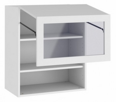 Porte pliante vitré inox 34.7x99.7cm