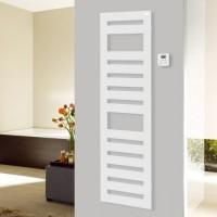 Sèche-serviettes électrique KARENA 500W blanc 122,5/40cm