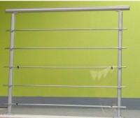 Main courante acier gris clair 2m