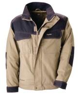 Veste Mojave 100% coton beige gris taille XL KAPRIOL MORGANTI