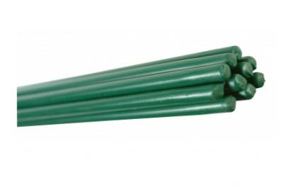 Barre de tension plastifiée hauteur 1,3m vert