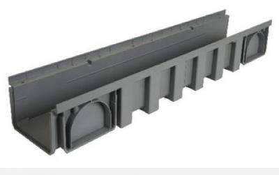 Caniveau largeur 200 polypropylène 1ml