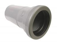 Manchette PVC évacuation de réparation diamètre 100mm femelle-femelle NICOLL