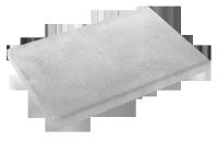 Margelle droite plate pierre reconstituée ardèche ESPACE 32x50cm FABEMI