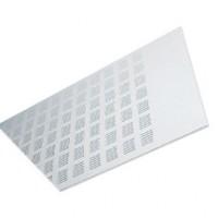 Dalle de plafond plâtre GYPTONE bord E base dimensions 60x60cm épaisseur 6mm PLACOPLATRE