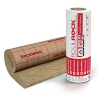 Laine de roche revêtue kraft ROULROCK 121 160mm 3x1,2m ROCKWOOL