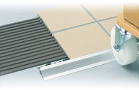 Profilé de transition Dural DURATRANS aluminium argent anodisé 2500mm dimensions 9x14mm