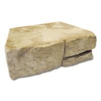 Bloc muret CEVENNES pierre naturelle teinte gironde 295x250x100mm BRADSTONE