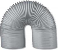 Gaine souple diamètre 100mm 3m PVC gris filet BREZINS