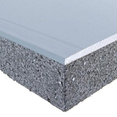 Plaque de plâtre PREGYMAX R=2,75 13+80mm 2,5x1,2m SINIAT