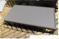 Table basse Empreinte 120x5x60cm HEDONE