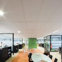 Dalle de plafond EKLA tégular T24 blanc 600x600x20mm ROCKFON