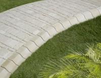 Bordurette classique ton pierre 15x12,5x17cm MARLUX
