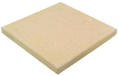 Couronnement de pilier jaune clair aspect pierlisse dimensions 48x48x5cm MARLUX