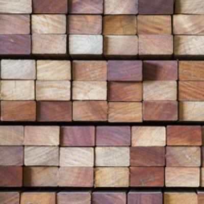 Lambourde bois exotique 42x70x2100mm CIBM