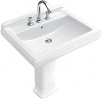 Colonne de lavabo HOMMAGE blanc ceramicplus VILLEROY ET BOCH
