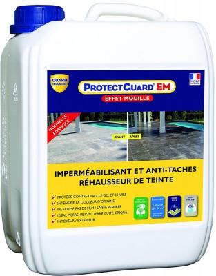 Anti-tâche PROTECTGUARD effet mouillé bidon 5l GUARD INDUSTRIE