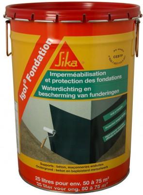 Enduit d'imperméabilisation IGOL FONDATION 25l SIKA