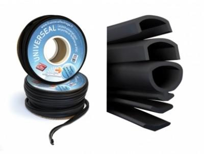 Joint d'étanchéité UNIVERSEAL PLUS PVC noir FRANCE CALFEUTRAGE
