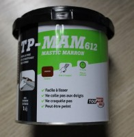 mastic vitrier marron toupret 1kg beaucouz 49070 d stockage habitat. Black Bedroom Furniture Sets. Home Design Ideas