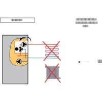 Kit de régulation AVS75 avec sonde QAD36 réf. C17201811 CHAPPEE