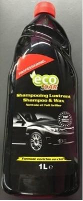 Nettoyant voiture shampoing lustrant 1l ECO CAR