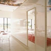 Pierre naturelle galet mat blanc autobloquant 30x30cm BATI ORIENT IMPORT