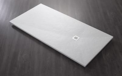 Receveurs BASE SLATE blanc 100x80cm