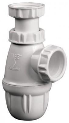 Siphon de lavabo en plastique à culot diamètre 32mm VALENTIN