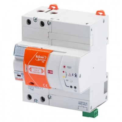 Restart autotest interrupteur différentiel 2 pôles à 63A 30MA GEWISS