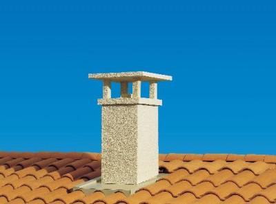 Sortie de toit TCP 230S 40/53 france classique crepie ocre POUJOULAT