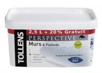 Peinture intérieur PERSPECTIVE acrylique mat 2,5l+20% CROMOLOGY SERVICES