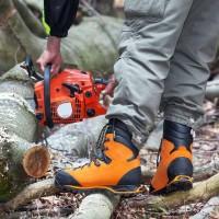 Chaussures de securité hautes PROTECTOR FOREST HAIX orange pointure 41 EBM