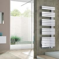 Sèche-serviettes électrique CONCERTO asymétrique 1000W blanc + booster 1000W