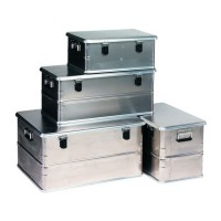 Coffre aluminium 90l rigide 77,8x38,7x38,3cm DISTRIBUTEUR PRODUITS COFAQ