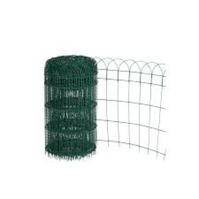 Grillage pour bordure ARMOR vert hauteur 1,20ml, rouleaux de 25ml DIRICKX