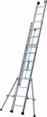 Echelle à coulisse 2 plans aluminium TUBESCA-COMABI
