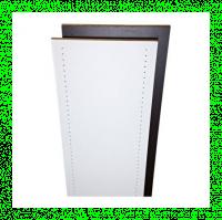 Tablette prépercé blanc 18mm 250x50cm PANOFRANCE