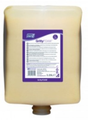 Mousse lavante GRITTYFOAM avec micro-billes 3.25l HEX-APPRO