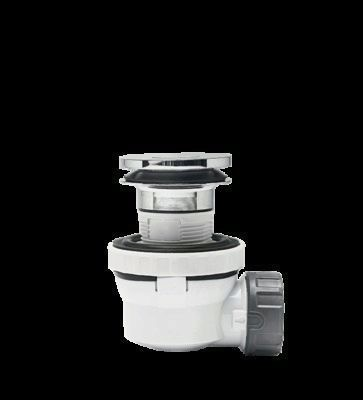 Ensemble complet de lavabo XS PURE Quick Clac bonde WIRQUIN PLASTIQUES