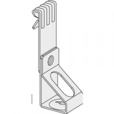 Clip support vertical 1,6-4,8 hauteur 65mm diamètre 6mm sachet de 100 pièces EUROCOUSTIC