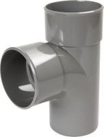 Culotte Mâle Femelle 87°30 simple diamètre 200mm NICOLL
