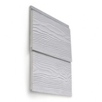 Lame de bardage CEDRAL fibre-ciment Click Smooth longueur 3600x1200x186mm ETERNIT CEDRAL