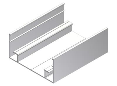 Lisse hauteur 38,5mm 3,05m-graphite CLIPPER