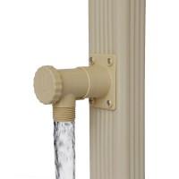 Collecteur d'eau de pluie rectangulaire sable DISTRIBUTEUR PRODUITS COFAQ