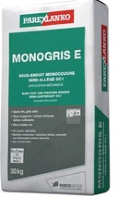 Sous-enduit monocouche d'imperméabilisation MONOGRIS E 30kg PAREXLANKO