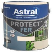 Peinture antirouille PROTECT'FER brillant blanc cassé 2l AKZO NOBEL DECO PAINTS